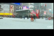 Blizzard pummels US East Coast