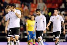 Valencia held to 1-1 draw by Las Palmas in Copa del Rey quarters
