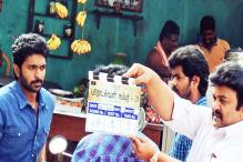 Vikram Prabhu honoured as 'appa' holds the clapboard, Prabhu Solomon calls 'action'