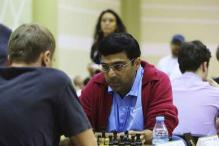 Viswanathan Anand draws with Anish Giri at Candidates Chess