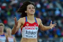 Russia bans four athletes for doping