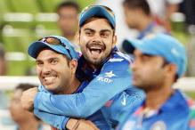Yuvraj returns, India begin World T20 dry run in Australia