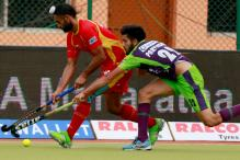 HIL 2017: Delhi, UP Wizards Play Draw, Move Closer Towards Semis