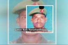 Hanamanthappa Koppad 'highly-motivated', served in 'difficult, challenging' areas