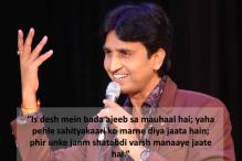 'Jashn-e-Rekhta' 2016: Kumar Vishwas' poetry wins hearts, receives unending cheers