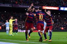 La Liga: Suarez's hat-trick sets up win for Barcelona, Torres takes Atletico home