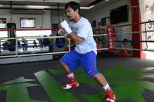 Filipino boxing ace Manny Pacquiao on a political crusade