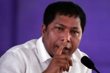 Meghalaya CM has a narrow escape as taxi hits his car