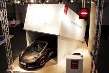Nissan 'unboxes' its affordable electric car at MWC