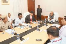 Rajnath Singh reviews coastal security in Lakshadweep