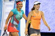 Sania, Hingis extend winning streak to 41 matches, enter quarters in Doha