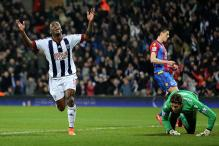 EPL: Crystal Palace fall short after their second-half surge against West Bromwich