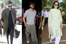 Airport style file: Sonam Kapoor wows with her fashion pick, Katrina Kaif goes make-up free