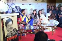 Amitabh Bachchan launches Shatrughan Sinha's biography 'Anything But Khamosh'