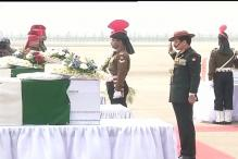 Army Chief lays wreath on bodies of 9 soldiers who died in Siachen avalanche