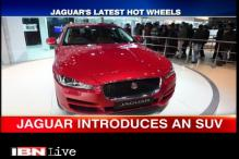 Jaguar unveils its affordable SUV model