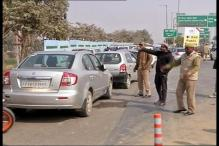 Huge traffic jams near Greater Noida due to Auto Expo