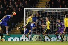 Chelsea held by Watford, Everton sink Newcastle