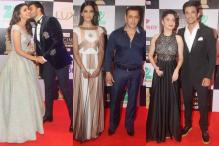 Salman Khan, Ranveer Singh, Sonam Kapoor: Stars dazzle at the red carpet of Cine Awards