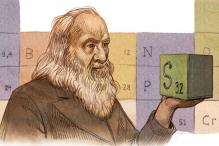 Google doodles Dmitri Mendeleev's periodic table on the Russian chemist's 182nd birthday