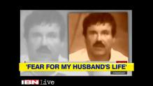 El Chapo's wife terrified for his safety behind bars