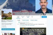Finance Ministry puts Lance Naik Hanamanthappa's photo on Twitter handle