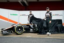 Force India unveils new Formula One car