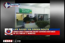 Delhi Police creates 25.4 km green corridor to transport heart in 17 minutes
