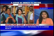 Hope for LGBT community after SC refers curative plea on homosexuality to 5-judge bench