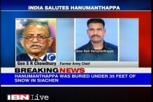Former armymen salute the Siachen braveheart