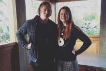 Snapshot: Ron, Ginny Weasley come together for a mini 'Harry Potter' reunion in Florida