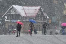 Heavy snowfall in higher hills of Himachal Pradesh