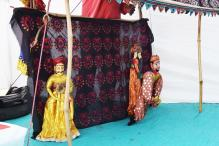 Dart throw, puppet show and other fun activities make medical camp at IIT Gandhinagar a fun day out for villagers