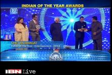 Flashback: Chetan Bhagat receives Indian of the Year 2014