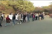 Rajnath Singh draws Hafiz Saeed-JNU protests link