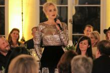 Patricia Arquette, Jennifer Lawrence discuss 'equal pay' at Pre-Oscar Cocktail Party