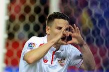 Kevin Gameiro double puts Sevilla on verge of Copa del Rey final