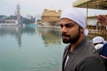 Virat Kohli visits Golden Temple, Wagah border with family
