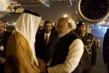 Abu Dhabi's Crown Prince arrives; PM Modi receives him at airport