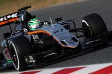 Nico Hulkenberg fastest as Ferrari toil