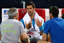 Novak Djokovic quits Dubai quarter-final, ends 17-finals streak
