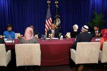 Barack Obama visits US mosque, interacts with community leaders