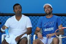 Leander Paes-Jeremy Chardy crash out of Mexico Open