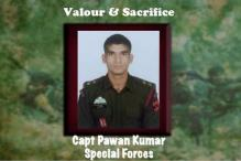 In pics: Army pays tribute to 23-year-old Pampore martyr Captain Pawan Kumar