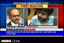 Police were clearly complicit in the attack on Kanhaiya, says Prashant Bhushan