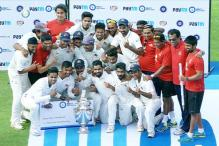 Ranji Trophy Final: Mumbai outclass Saurashtra in three days for 41st title