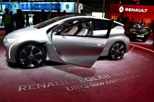 Renault shows off hybrid Eolab concept car at Auto Expo that could run 100km on just 1 litre fuel