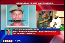 Siachen survivor Hanamanthappa fights to live