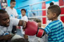 Olympics give Rio slum kids hope for survival