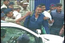 Actor Sanjay Dutt released from Yerwada jail